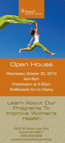 WWC Open House October 30th, 2019