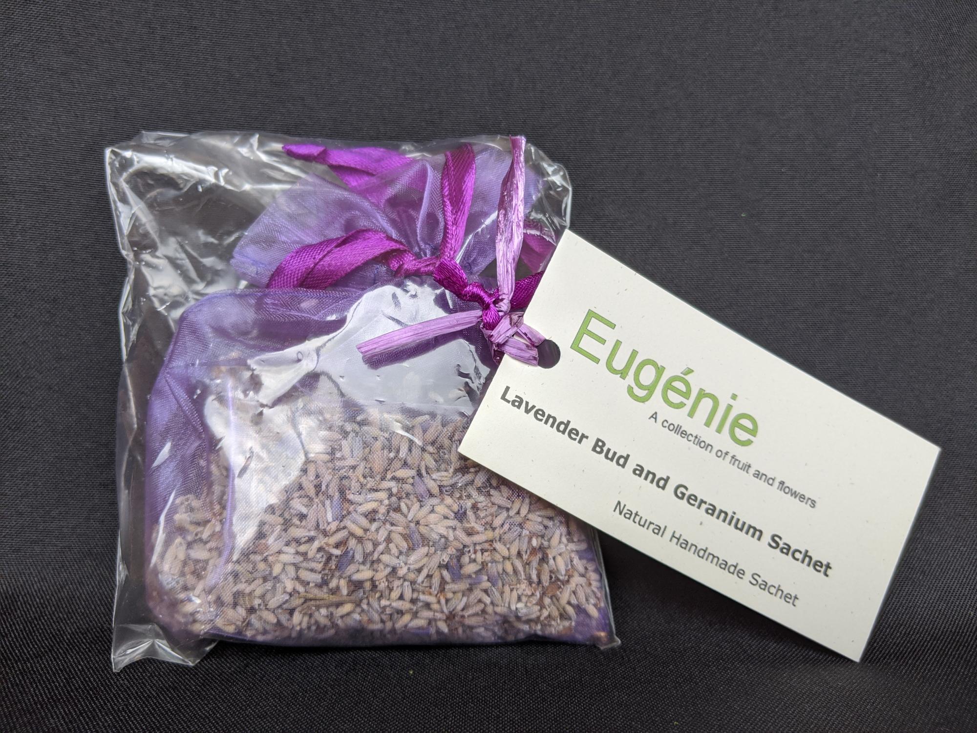 Lavender Bud & Geranium Sachet